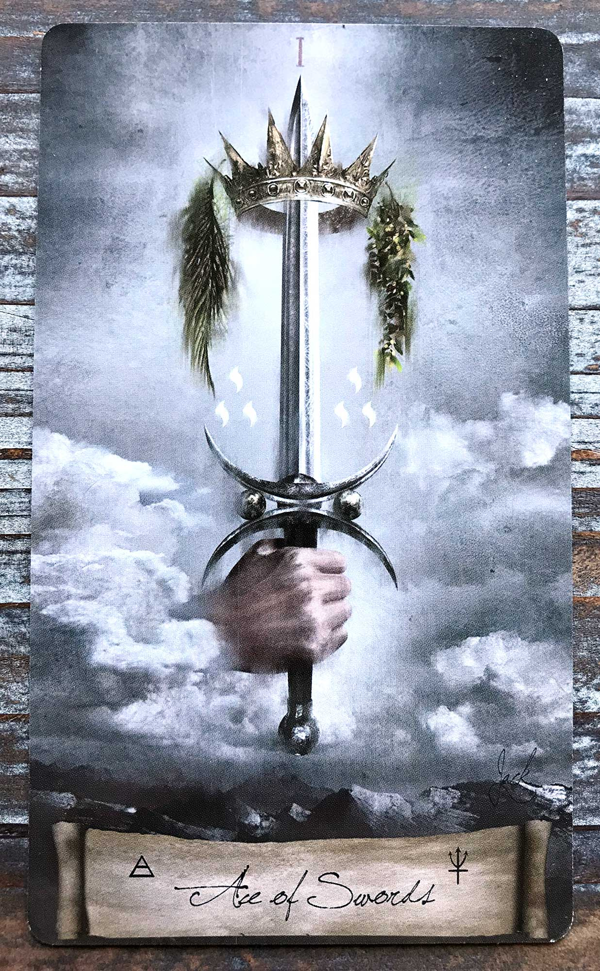 Heaven & Earth Tarot - Ace of Swords