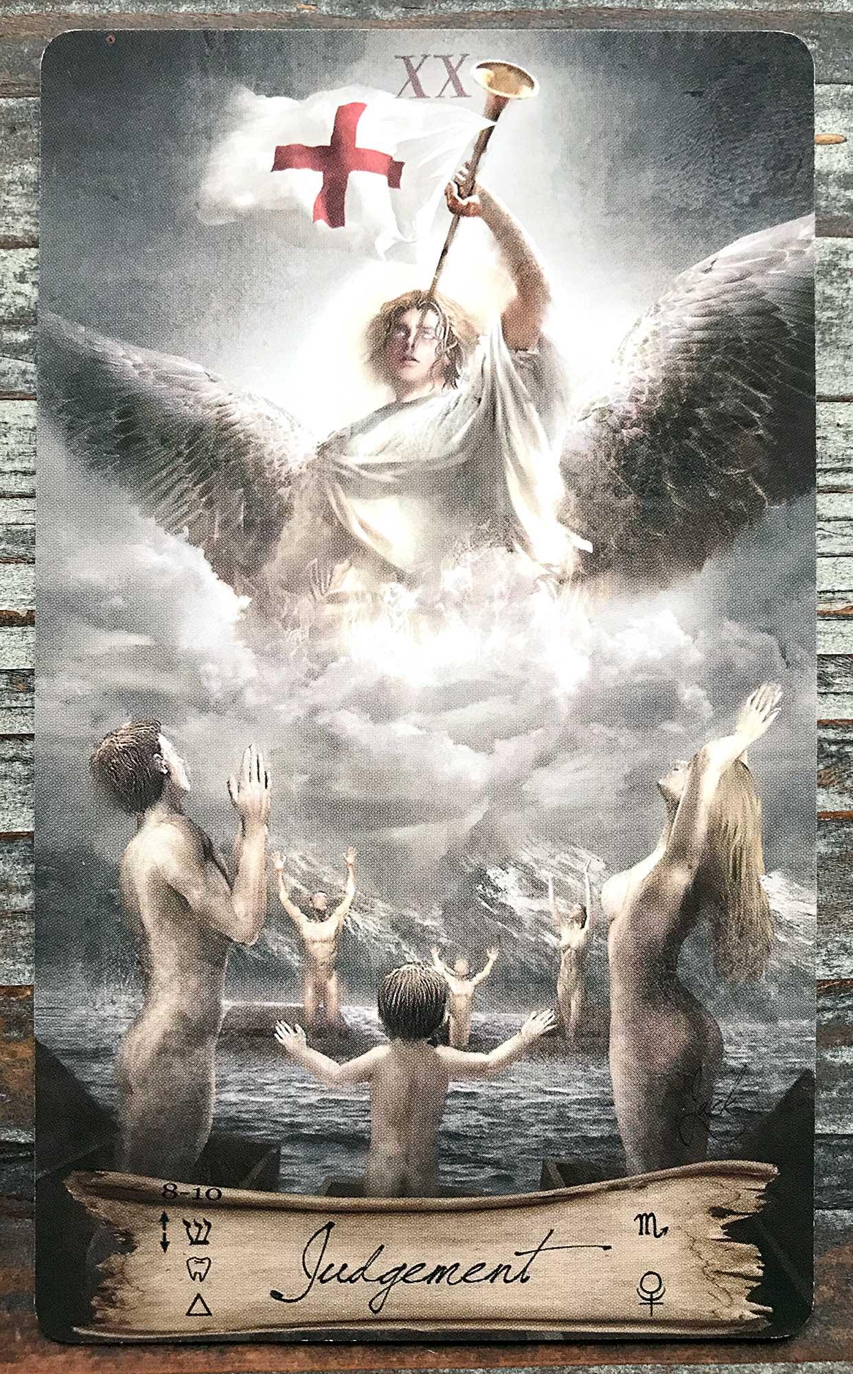 Heaven & Earth Tarot - Judgement