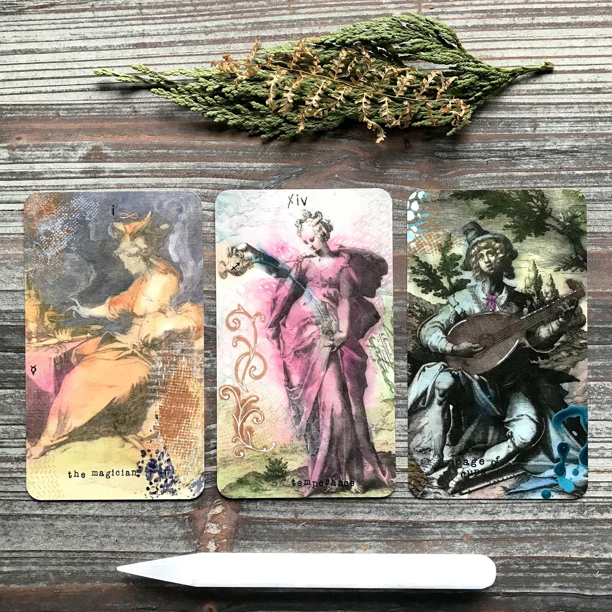 Mystic Masters Tarot