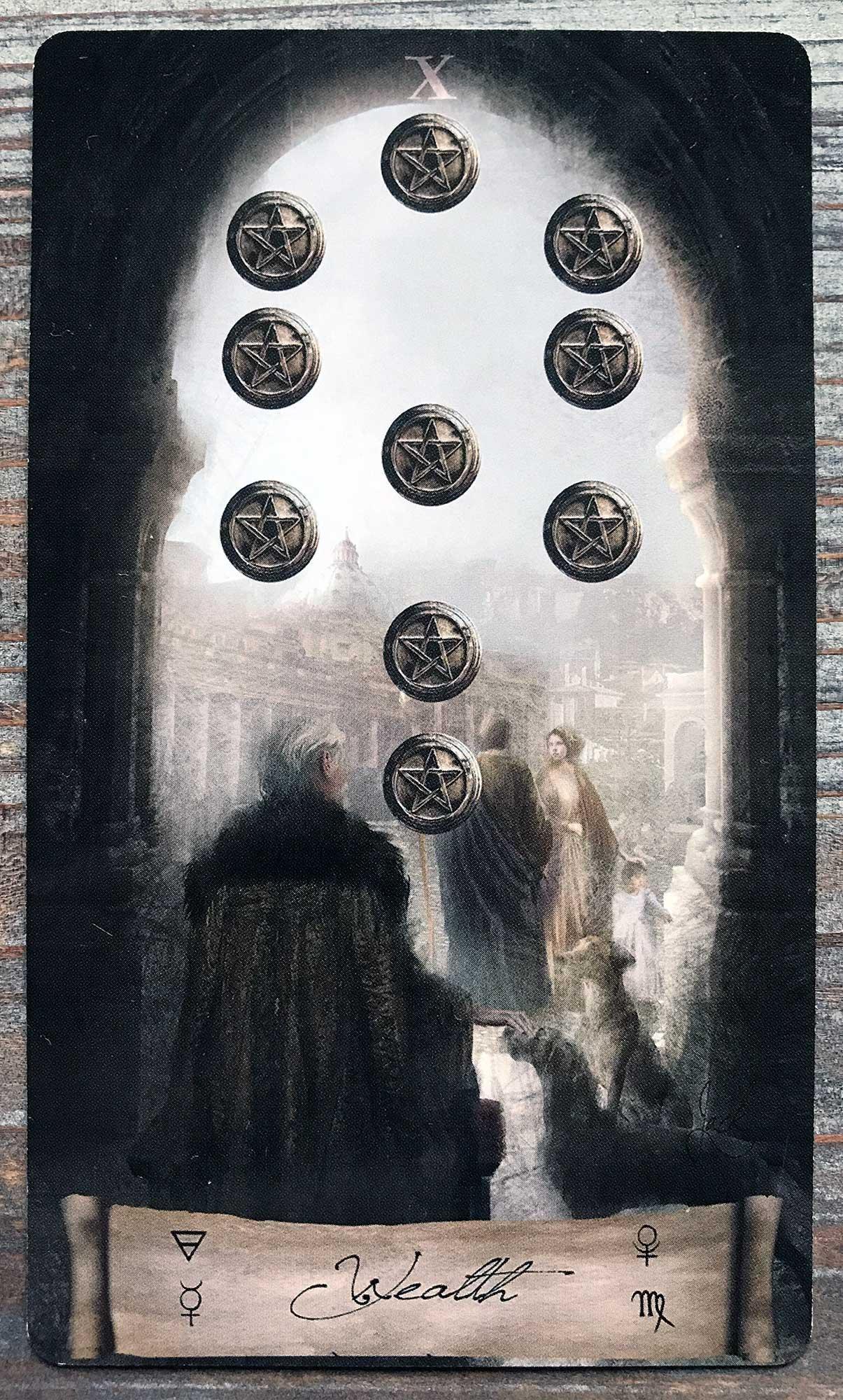 Heaven & Earth Tarot - Ten of Pentacles