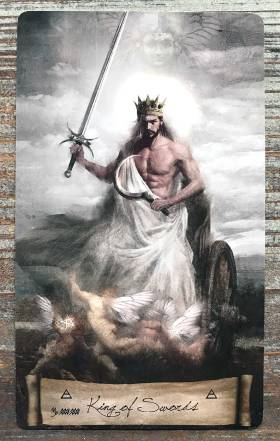 Heaven & Earth Tarot - King of Swords
