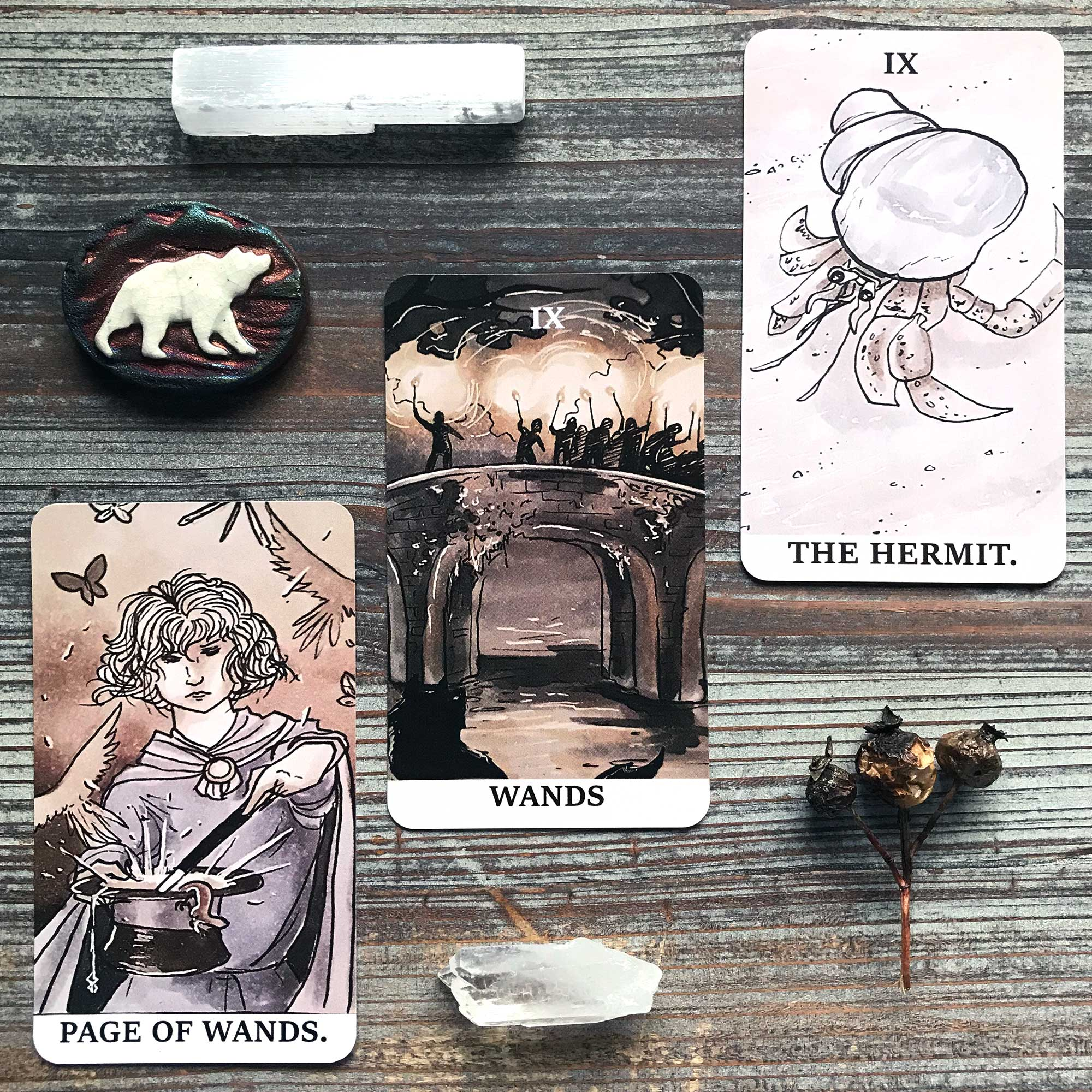 Ink Witch Tarot