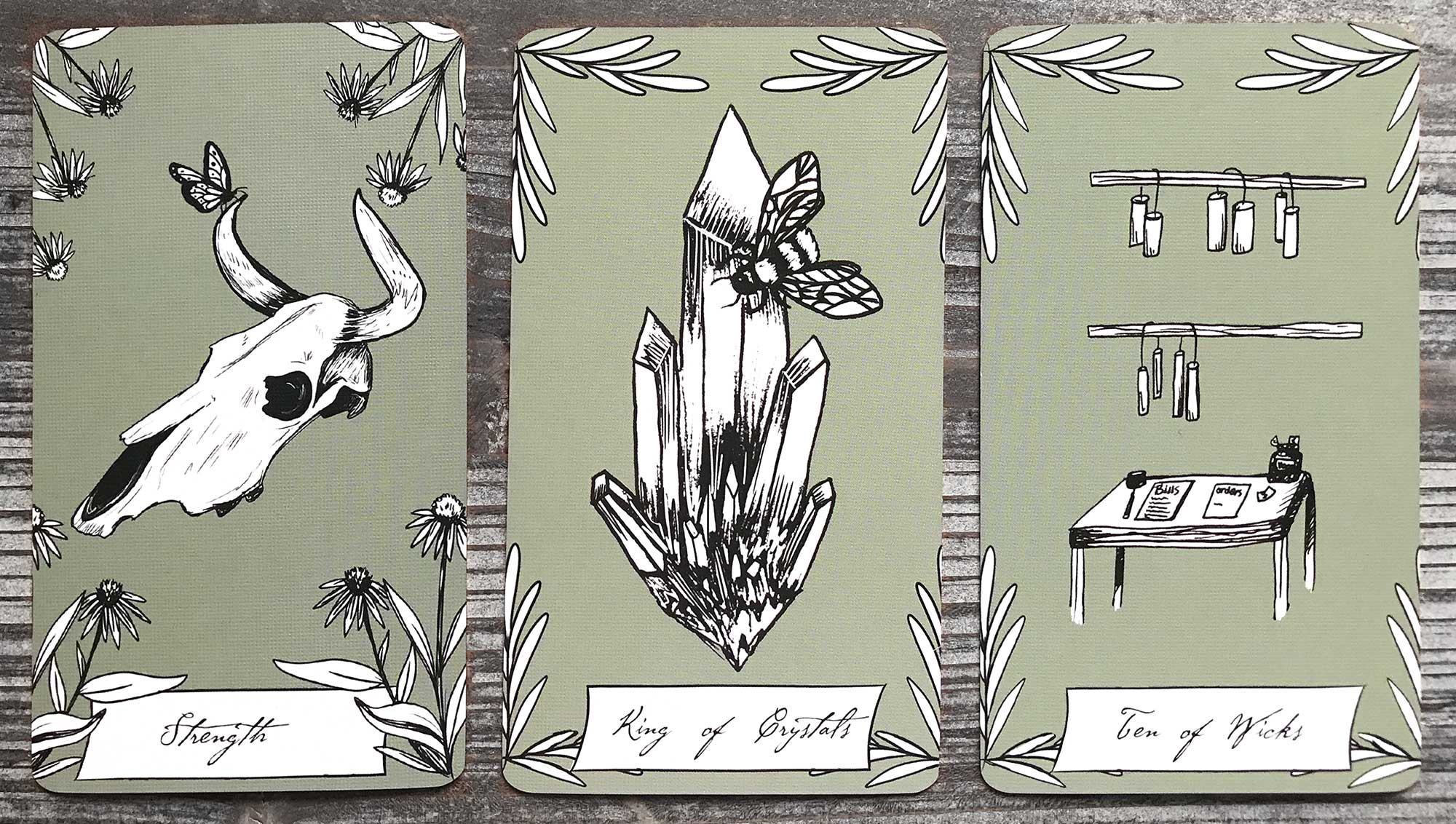 Earth Bones Tarot