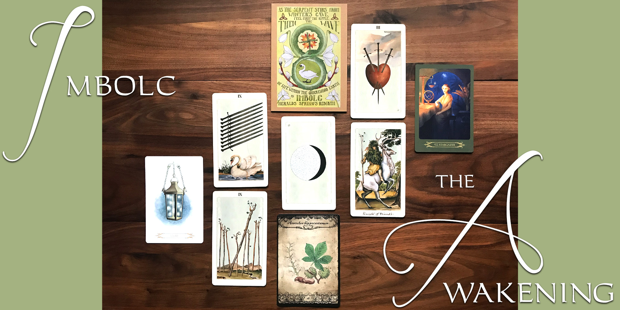 Imbolc 2021 Tarot Reading