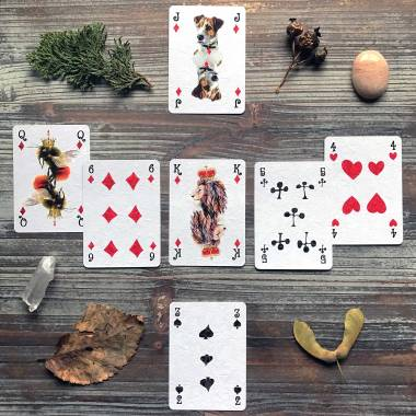 Whimsy Playing Cards