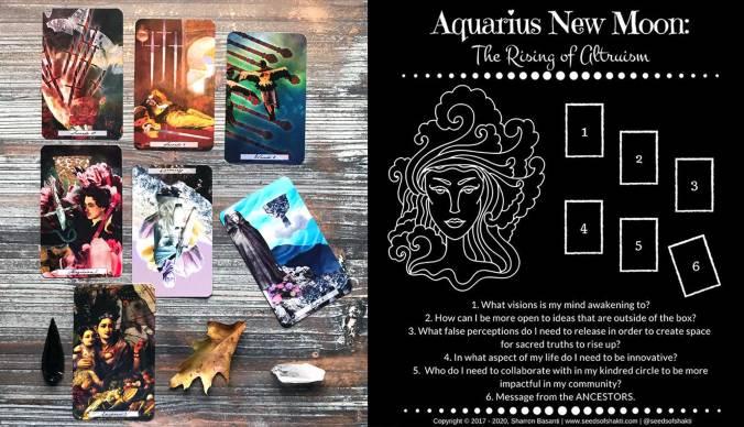 Aquarius New Moon - The Uncommon Tarot