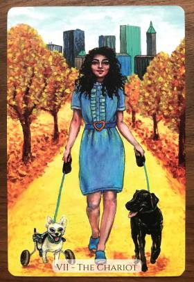 Modern Love Tarot - The Chariot