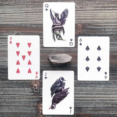 Aves Uncaged Bicycle Playing Cards