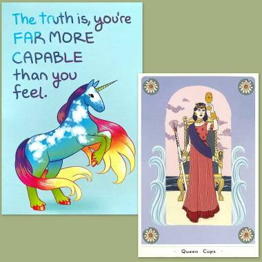 True Heart Intuitive Tarot and Thera-Pets Emotional Support Animal Cards