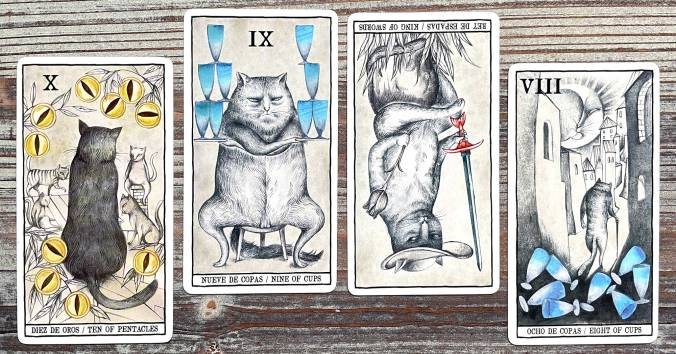 Fournier's Tarot Cats by Ana Juan