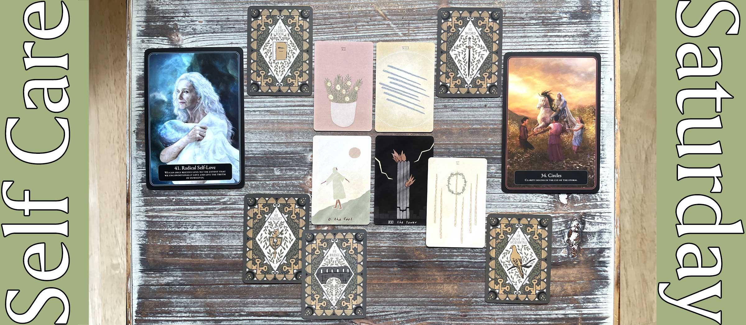 Mesquite Tarot, Elucidation Deck, Lantern Oracle