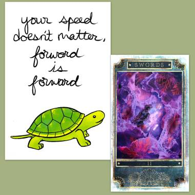 A Siren's Melody Tarot and Thera-Pets Emotional Support Animal Cards