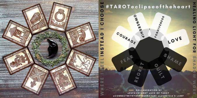 Tarot Eclipse of the Heart Spread - Anino Lenormand
