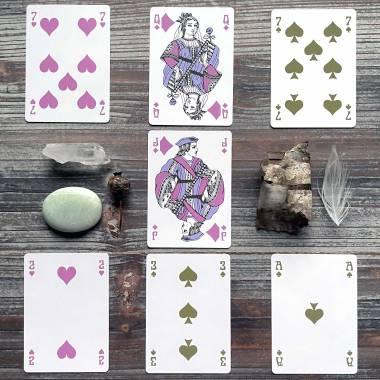 1870 Cartes a Jouer du Belles Cartes Ltd