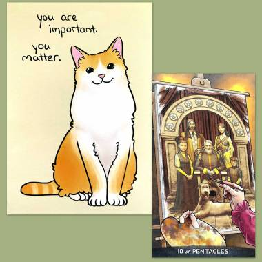 Gregory Scott Tarot and Thera-Pets Emotional Support Animal Cards