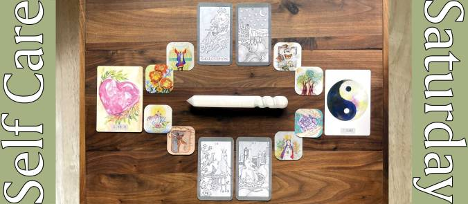 Tarot of Many Doors, Earth Force Insight Cards, Morning Calm Oracle