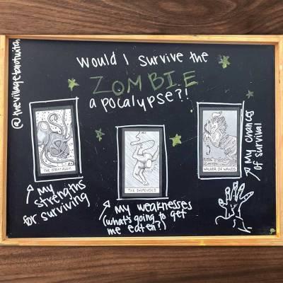 Zombie Apocalypse Tarot Spread