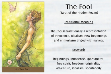The Fool - Tarot of the Hidden Realm