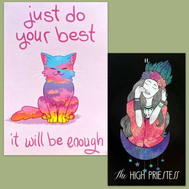 Inspiration Tarot and Thera-Pets Emotional Support Animal Cards