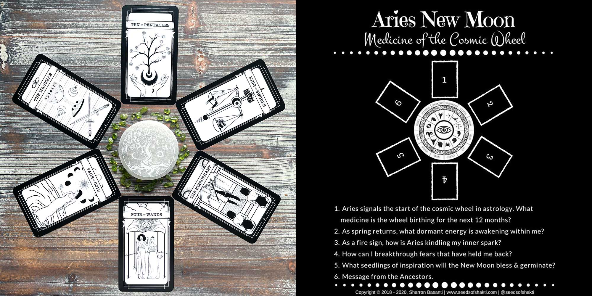 Queer Witch Tarot - Aries New Moon