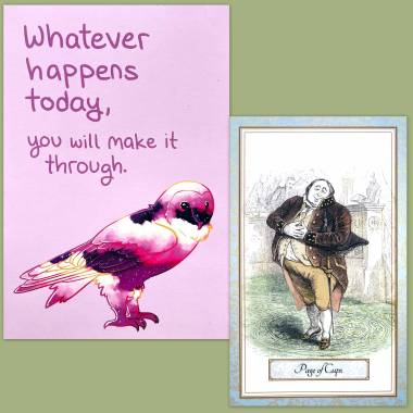 Cent Proverbes Tarot and Thera-Pets Emotional Support Cards