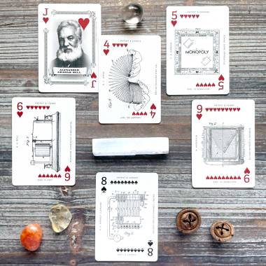 Art of the Patent Playing Cards Famous Patents Edition