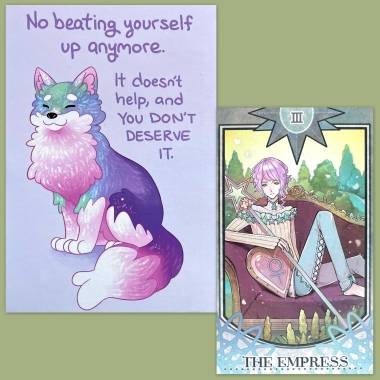 Ideal Soulmate Tarot and Thera-Pets Emotional Support Animal Cards