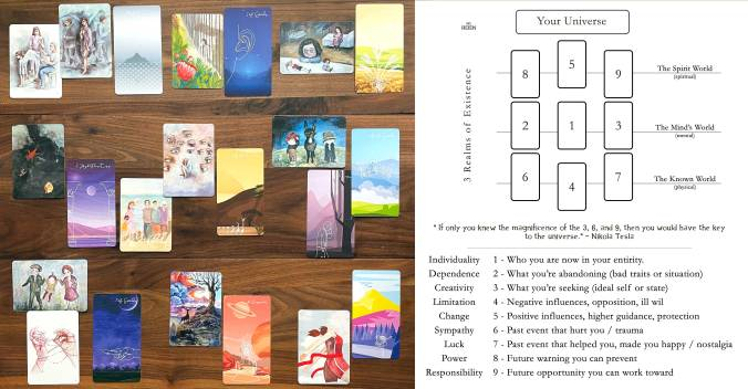 Linescape Tarot and Metaphoric Therapy Cards
