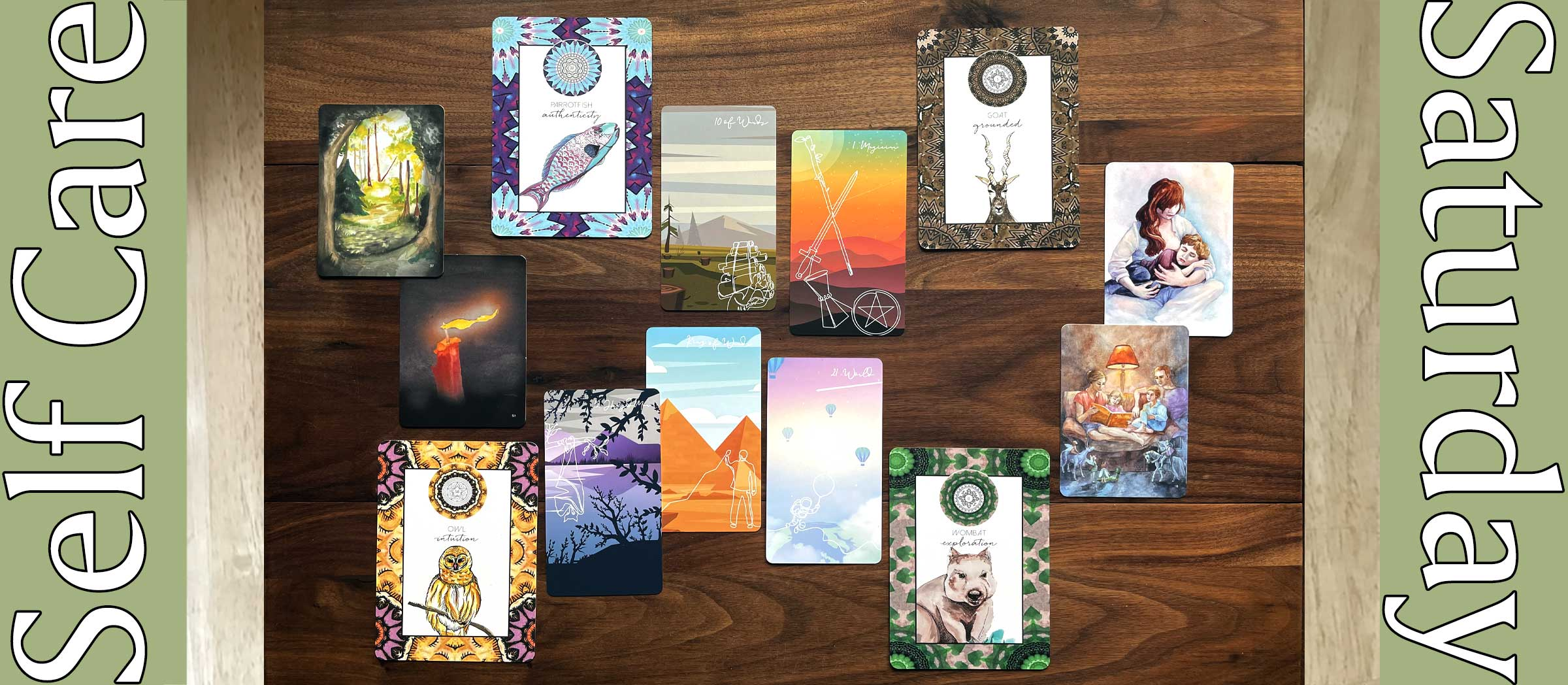 Linescape Tarot, Animal Kin Oracle, Metaphoric Therapy Cards
