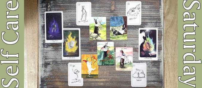 Rabbit Tarot, Carrot Cards, Nest of Light Oracle