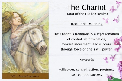 The Chariot - Tarot of the Hidden Realm