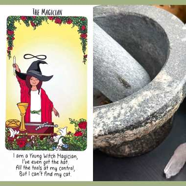 Young Witch Tarot - The Magician