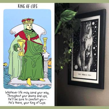 Young Witch Tarot - King of Cups
