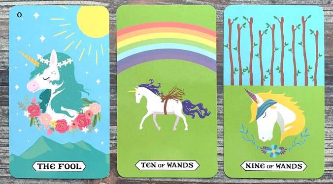 Rainbow Unicorn Tarot