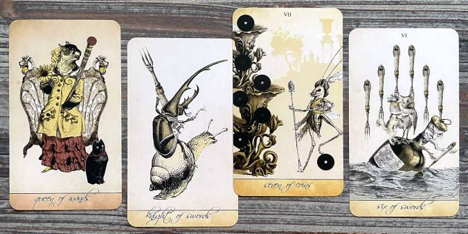 Isidore Tarot Sea and Sand Spring Edition