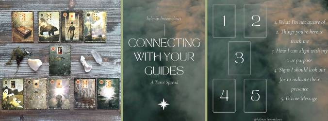 Malpertuis Lenormand - Connecting With Your Guides Tarot Spread