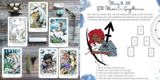 Stolen Child Tarot - Sagittarius Full Moon Tarot Reading