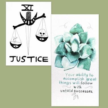 Spirit Speak Tarot and Flower Fortune Cards