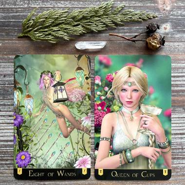 Forest Creatures Tarot v2