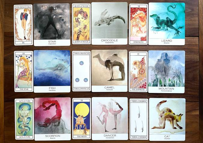 Miracle Tarot and Nature & Soul Yoga Wisdom Cards