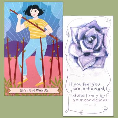 Good Karma Tarot and Flower Fortune Cards