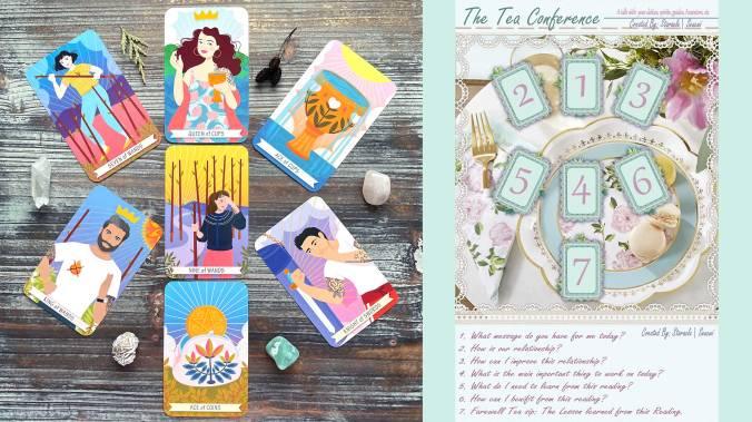 Good Karma Tarot - The Tea Conference Tarot Spread