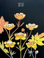 Botanica Tarot - Six of Cups
