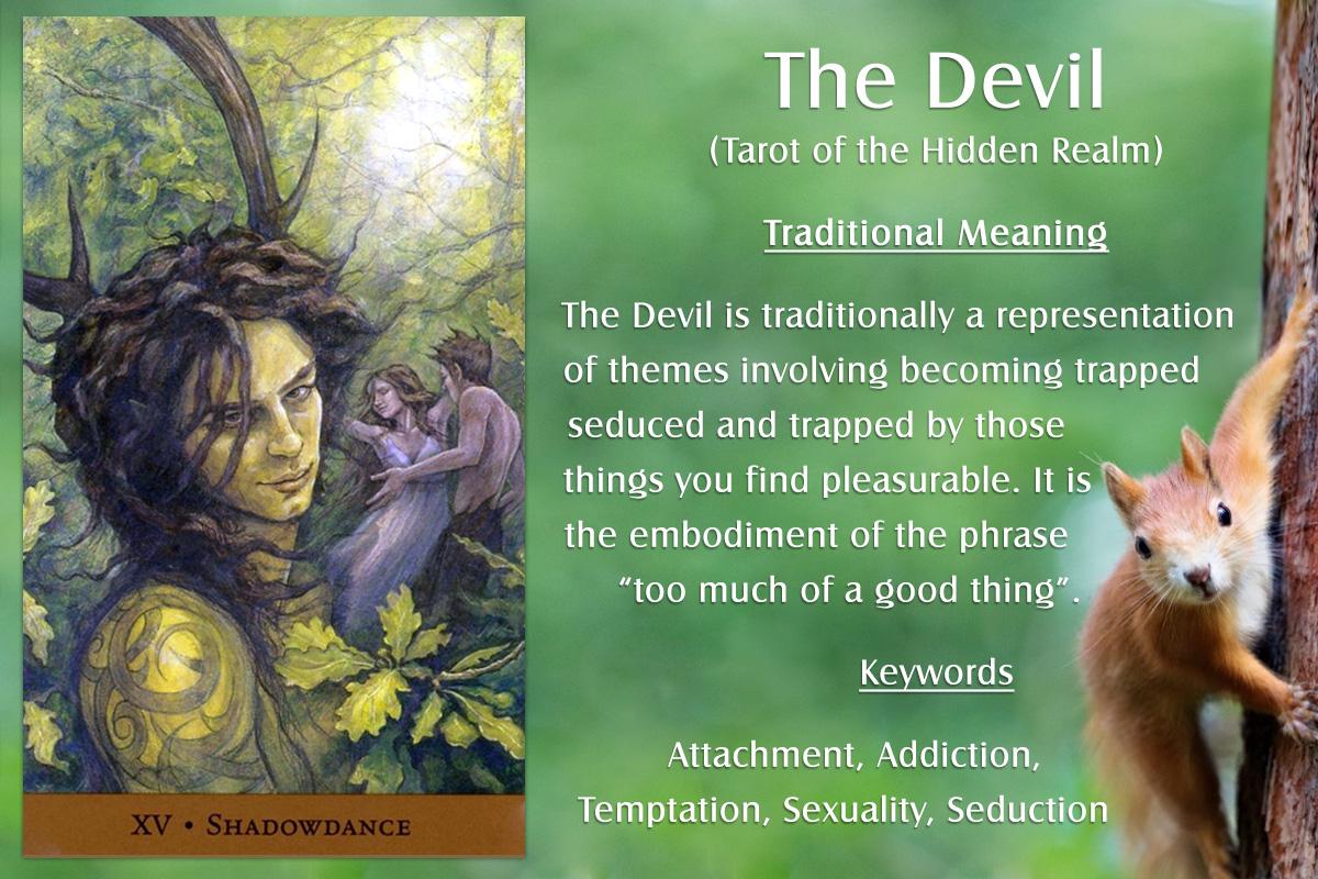Tarot of the Hidden Realm - The Devil