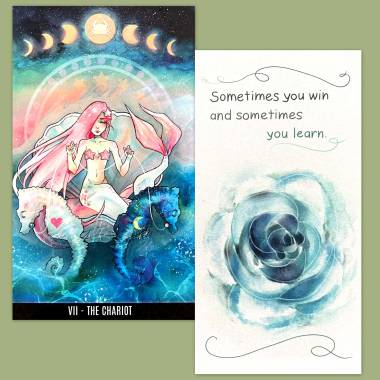 Vox Arcana Tarot and Flower Fortune Cards