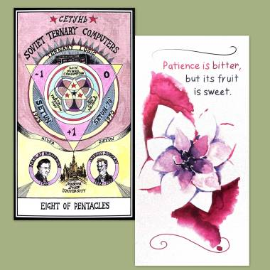 Hexen 2.0 Tarot and Flower Fortune Cards