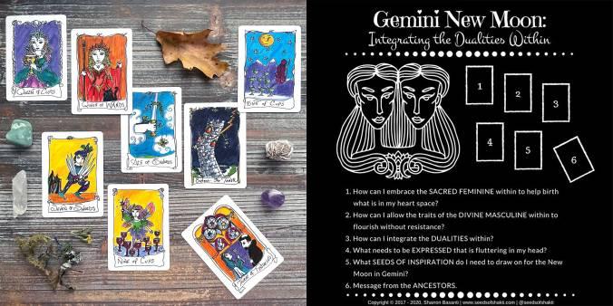 New Moon in Gemini Reading - Minute Tarot