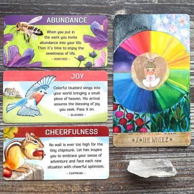 Backyard Blessings Cards and Playful Heart Tarot