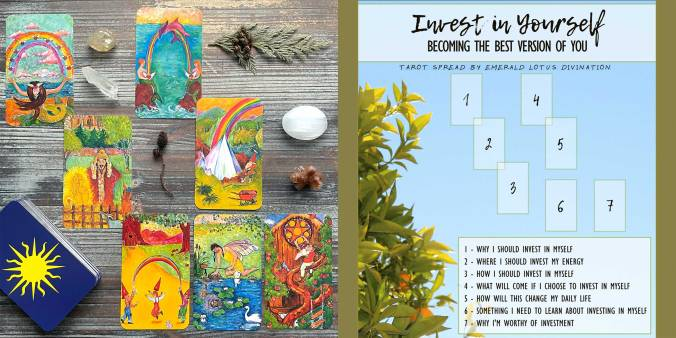 Inner Child Cards Fairy Tale Tarot - Invest in Yourself Tarot Reading