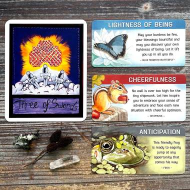 Family Tarot and Backyard Blessings Cards